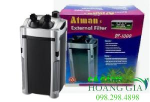 Máy lọc Atman DF 1000 với động cơ hoạt động bền bỉ nhỏ gọn tiết kiệm điện năng