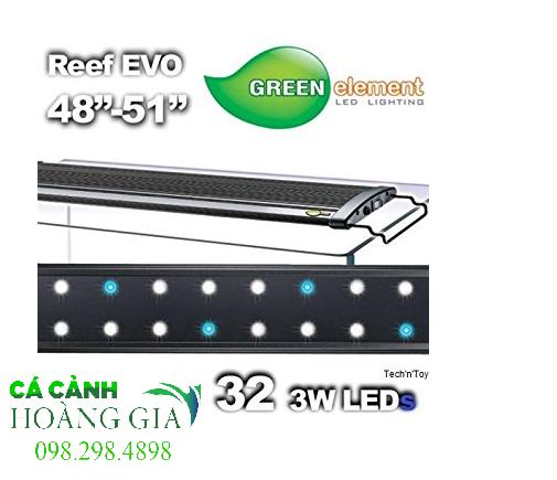 Đèn led EVO Green 32 dùng cho bể cá có kích thước chiều dài từ 120cm-130cm