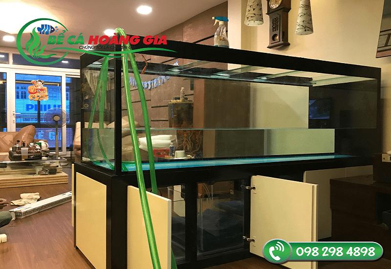 Hình ảnh ghi lại quá trình lắp đặt hoàn thiện tại nhà khách hàng anh Dũng Trường Trinh