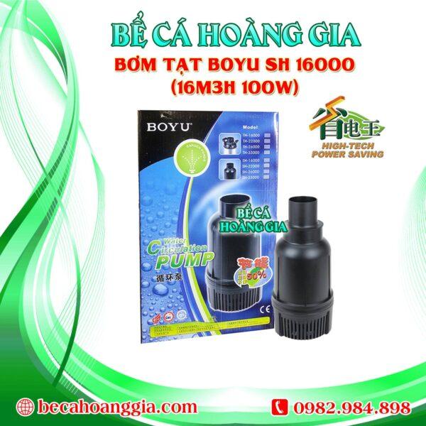 Bơm Tạt Boyu TH 16000 (16m3h 100w)