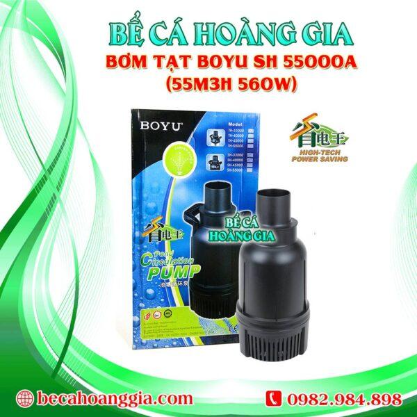 Bơm Tạt Boyu SH 55000A (55m3h 560w)