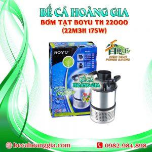 Bơm Tạt Boyu TH 22000 (22m3h 175w)