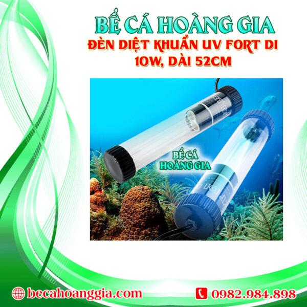 Đèn diệt khuẩn UV Fort DI 10w, dài 52cm