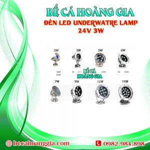 Đèn LED UnderWatre Lamp 24V 3W
