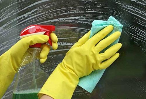 cách làm sạch kính bể cá