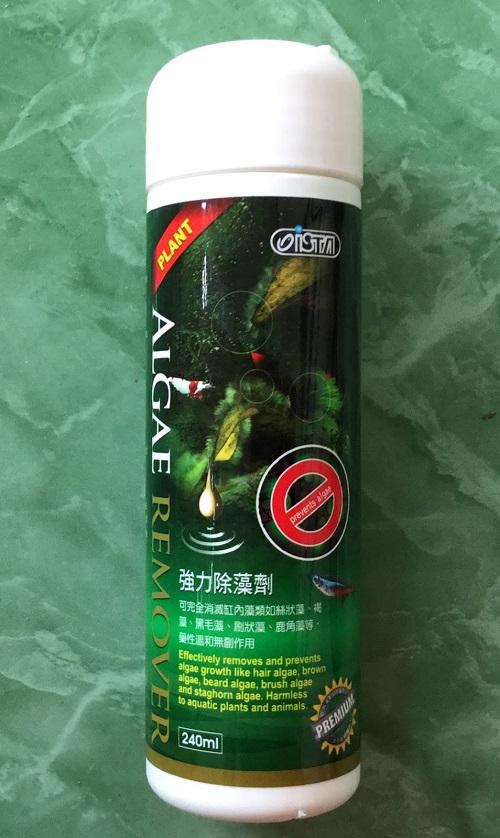 thuốc diệt rêu bể cá