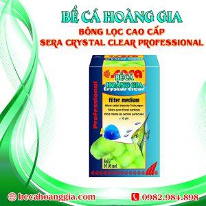BÔNG LỌC CAO CẤP SERA CRYSTAL CLEAR PROFESSIONAL