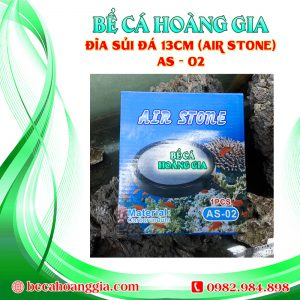 Đĩa sủi đá 13cm (Air Stone) AS – 02