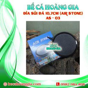 Đĩa sủi đá 10,7cm (Air Stone) AS – 03