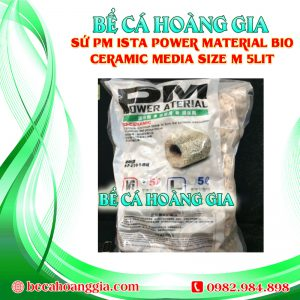 SỨ PM ISTA POWER MATERIAL BIO CERAMIC MEDIA SIZE M 5LIT