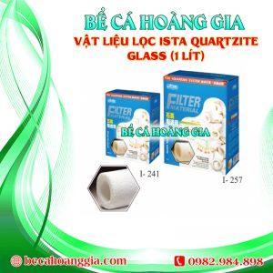 VẬT LIỆU LỌC ISTA QUARTZITE GLASS (1 LÍT)