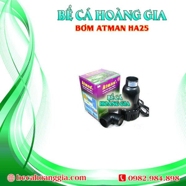 Bơm Tạt Atman HA25