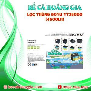 Lọc thùng Boyu YT25000 (4600lh)