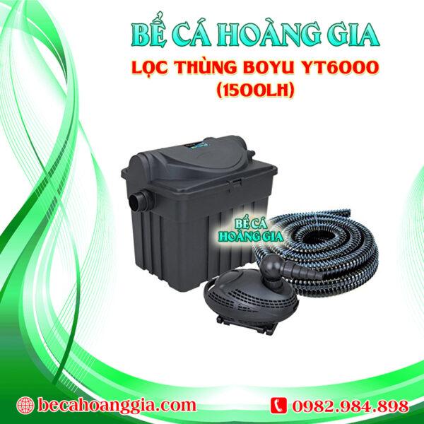 Lọc thùng Boyu YT6000 (1500lh)