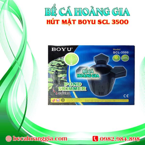 Hút mặt BOYU SCL 3500