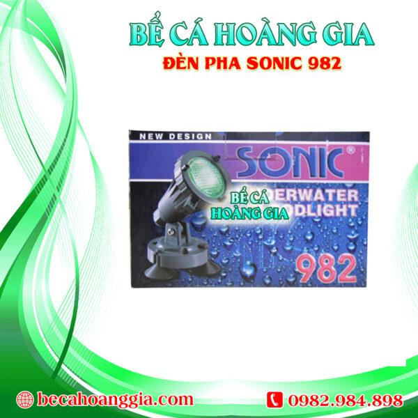 Đèn Pha Sonic 982