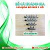 VAN KHÓA SỦI INOX 5 VÒI