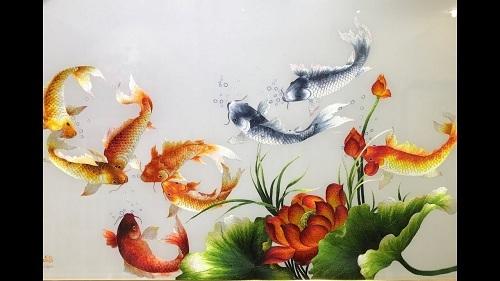 Tranh cá chép