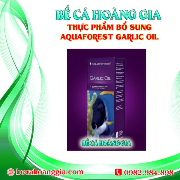 THỰC PHẨM BỔ SUNG AQUAFOREST GARLIC OIL
