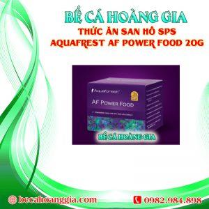 THỨC ĂN SAN HÔ SPS AQUAFREST AF POWER FOOD 20G