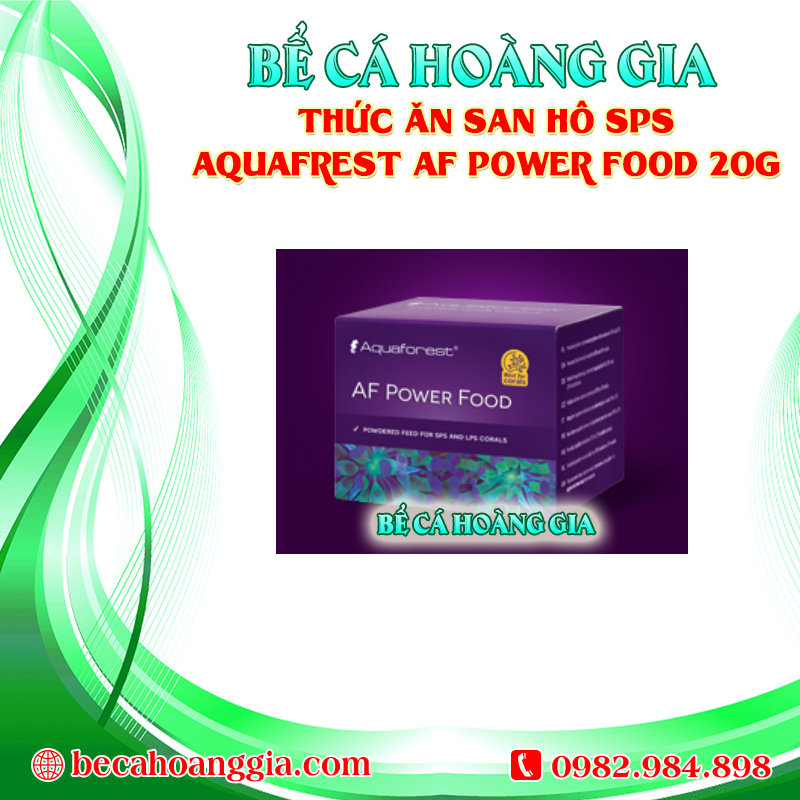THỨC ĂN SAN HÔ SPS AQUAFREST AF POWER FOOD 20G