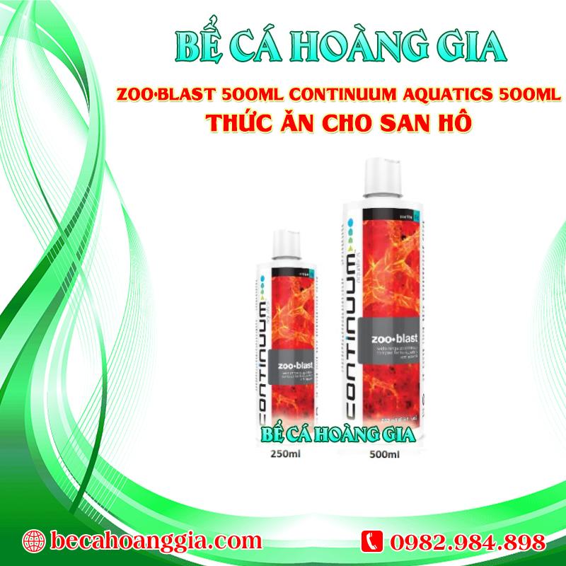ZOO•BLAST 500ML CONTINUUM AQUATICS 500ML – THỨC ĂN CHO SAN HÔ