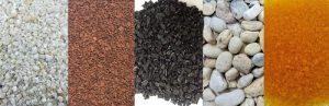 vật liệu lọc bể cá