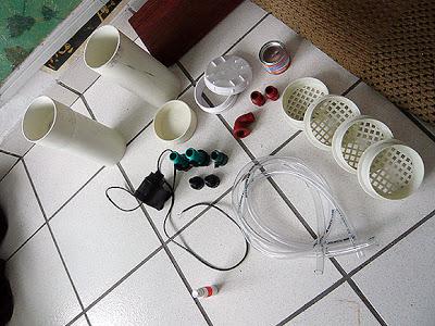 nguyên liệu lọc thùng tự chế