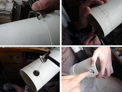 lắp ráp nguyên liệu lọc thùng
